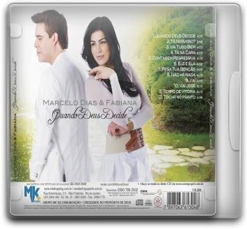 marcelo dias e fabiana - quando deus decide - cd - mk music