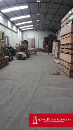 marcelo t. de alvear (l. marechal 100) - alquiler galpon 600 m2.
