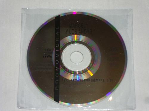 marcely y los andys - te aguardare siempre cd promo musivisa