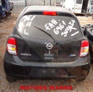 march nissan sucata 2012/2013 sucata para retirada de peças
