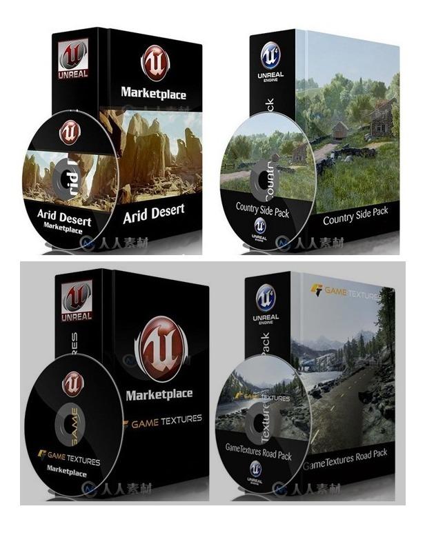 Marcketplace Unreal Engine 4 + De 600gb Mega Coleção Ue4
