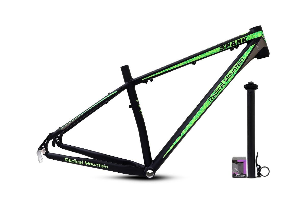 Marco 29 Radical Mountain Gris/verde+partes - $ 69.899 en Mercado Libre