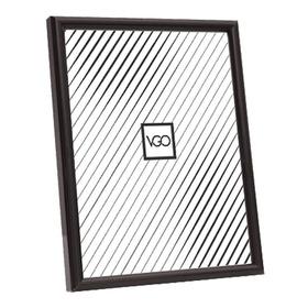 Marco 40x50 Plastico Color Negro Vgo