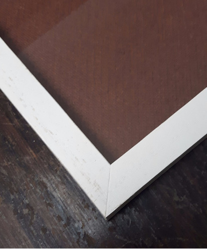marco a3 30x42 cm para diploma, lamina negro