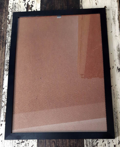 marco a4 21x30 cm para diploma, lamina (negro)