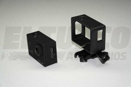 marco accesorio cámara sj4000 mejora audio sjcam -