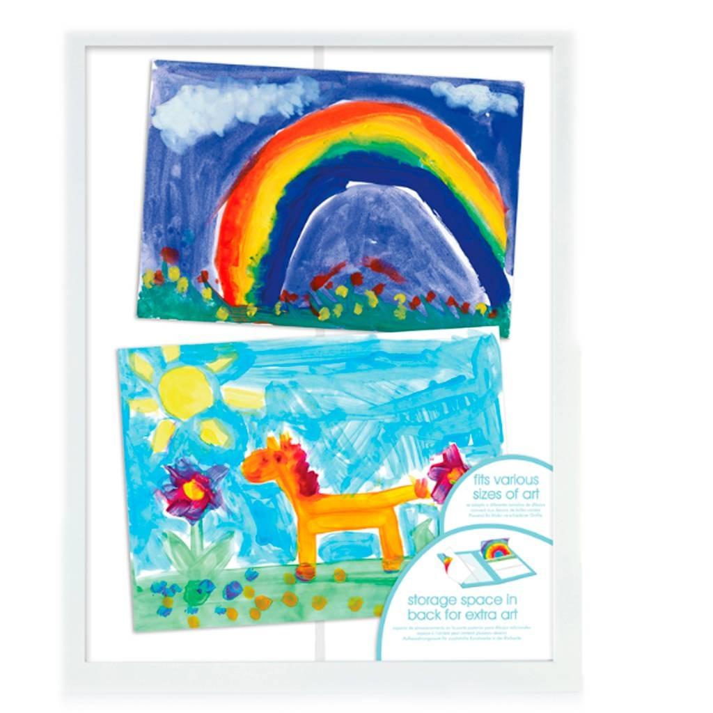 Marco Almacenamiento Obras Arte Para Niños Pearhead - $ 649.00 en ...
