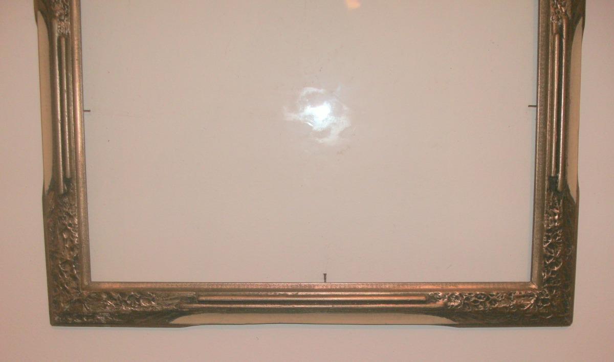 Marco antiguo molduras de yeso cuadro foto espejo 35cm x for Molduras para espejos online