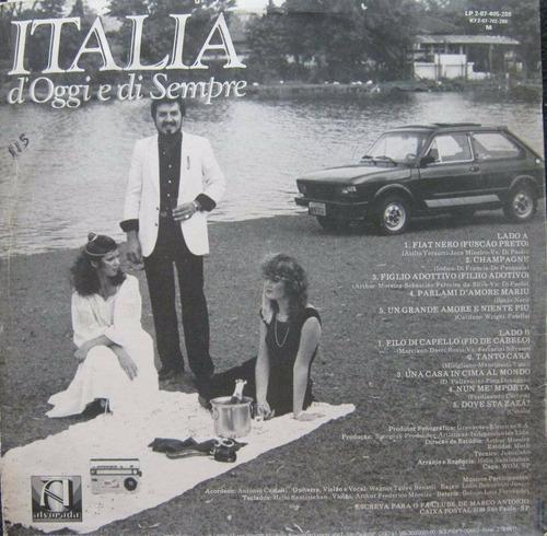 marco antonio - lp itália d' oggi e di sempre - 1983