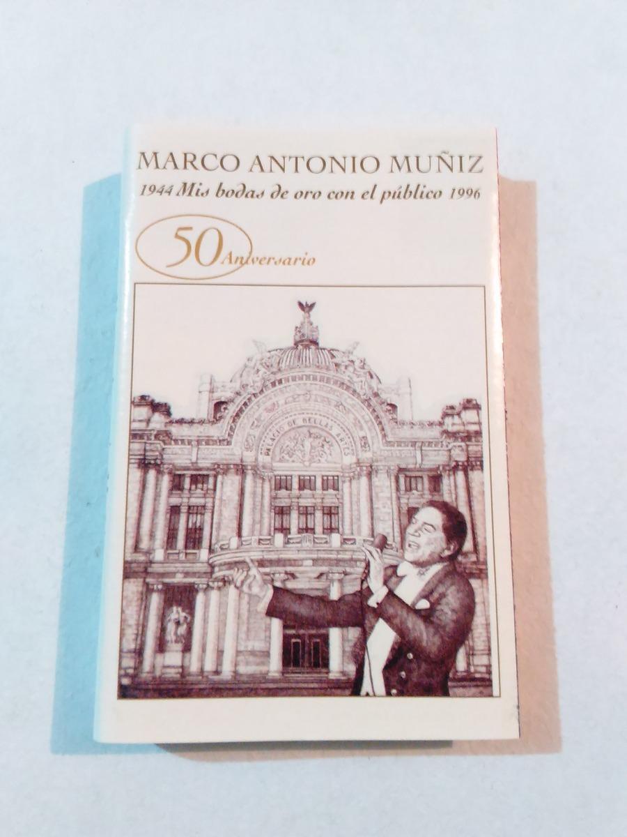 Marco Antonio Muñiz - 50 Aniversario Casete - $ 115.00 en Mercado Libre