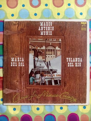 marco antonio muñiz lp1981  amo la musica country