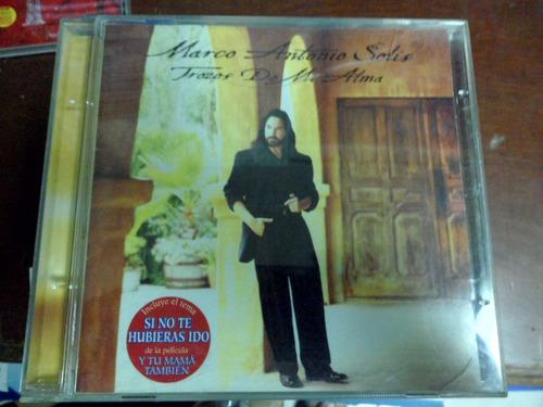 marco antonio solis cd album trazos de mi alma