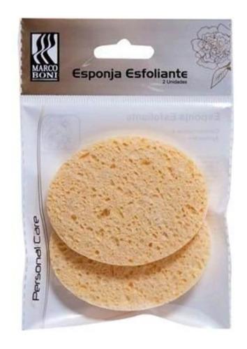marco boni 8431 esponja facial esfoliante c/2