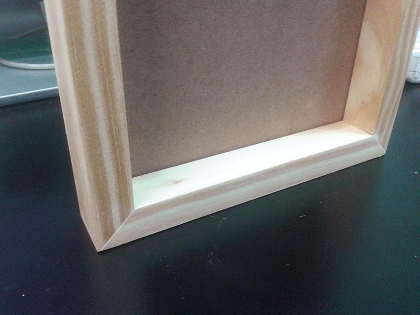Marco Box De Madera 10x15 Cm - $ 90,00 en Mercado Libre