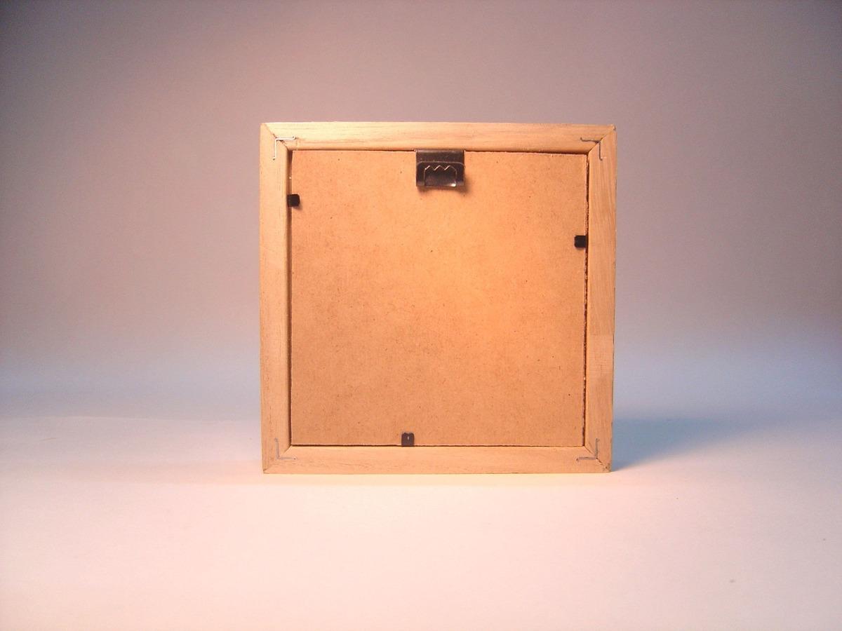 Marco Box De Madera 25 X 25 Kiri - $ 170,00 en Mercado Libre