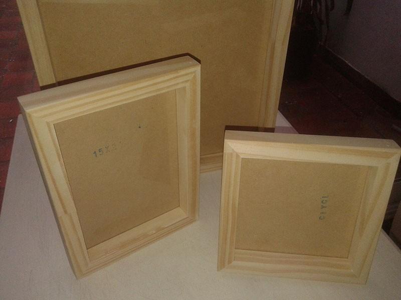 Marco Box De Madera 30x40 Cm Para Cuadros - $ 295,00 en Mercado Libre