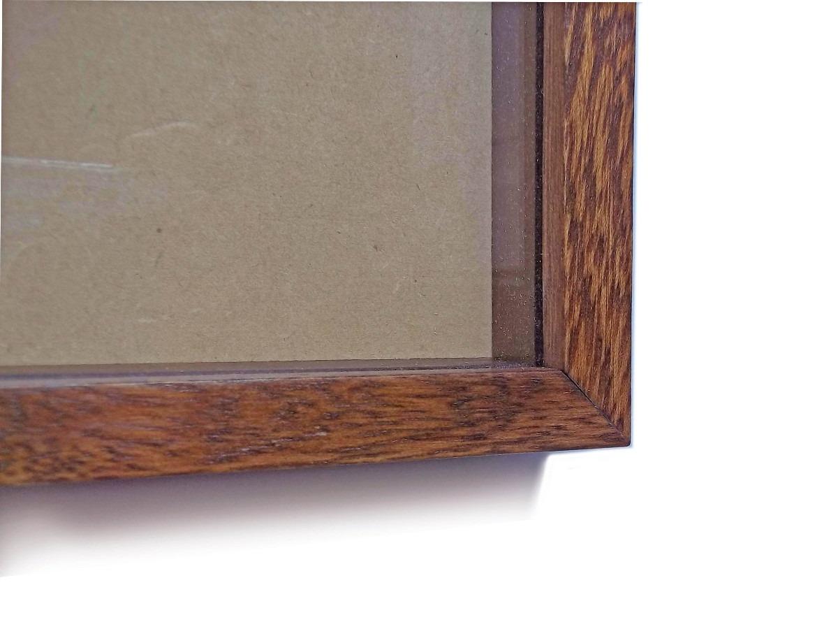 Marco Caja Con Vidrio 30x40 Cuadros Arte Francés Objetos 49800