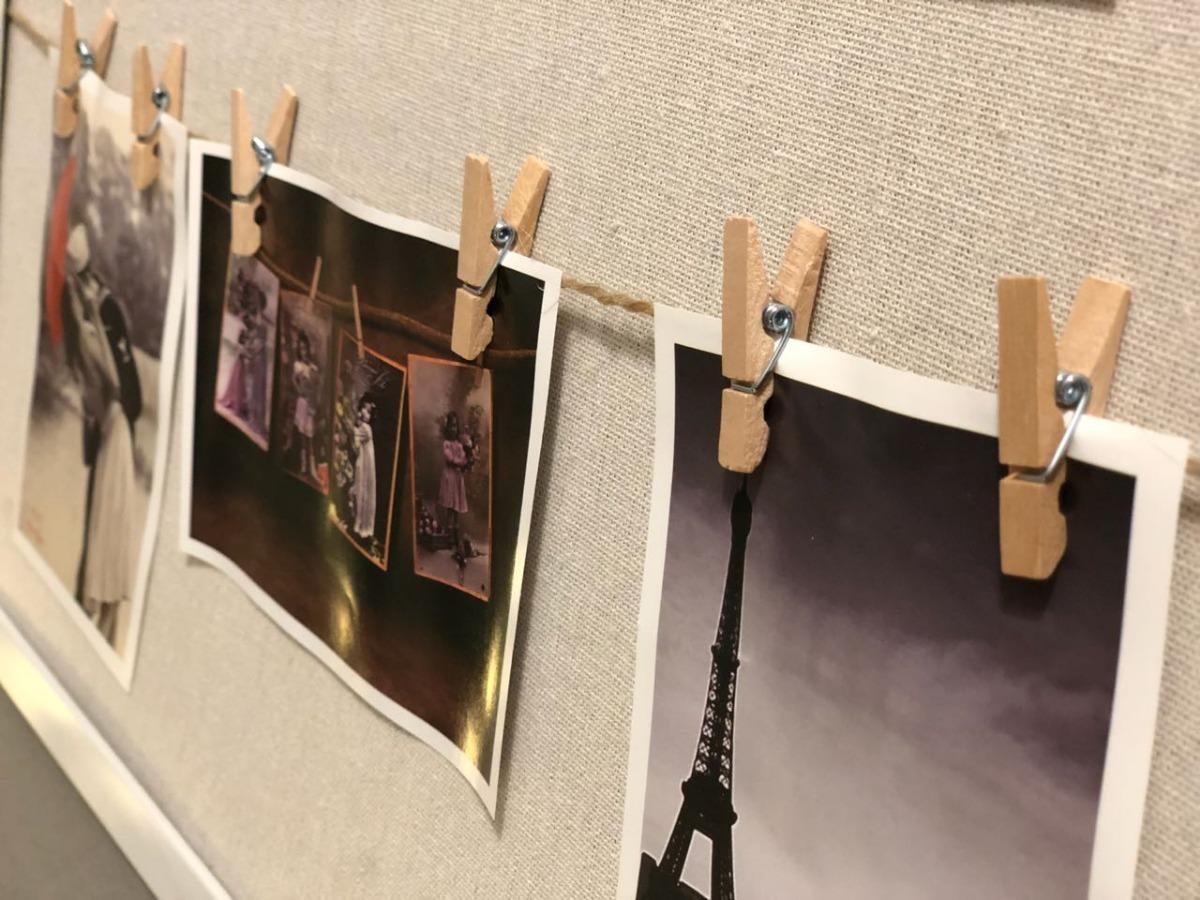 Marco C/broches Multiple Porta Retrato C/fotos - $ 620,00 en Mercado ...