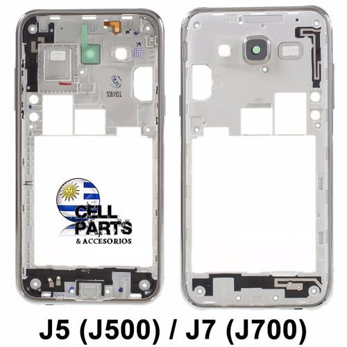 marco central carcasa j5 j500 j7 j700 cell parts frame medio