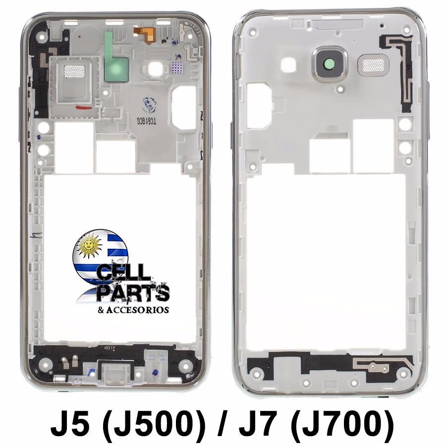 Marco Central Carcasa J7 J700 Cell Parts Frame Central - $ 380,00 en ...