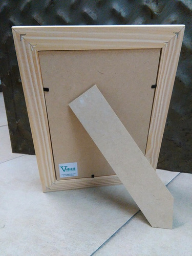 marco chato de madera 15x21 cm (varilla de 3 cm)