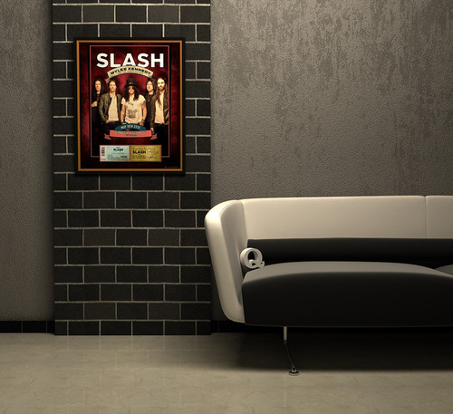 marco conmemorativo para tu entrada - slash - 2019