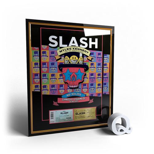 marco conmemorativo para tu entrada - slash - 2019 - pop