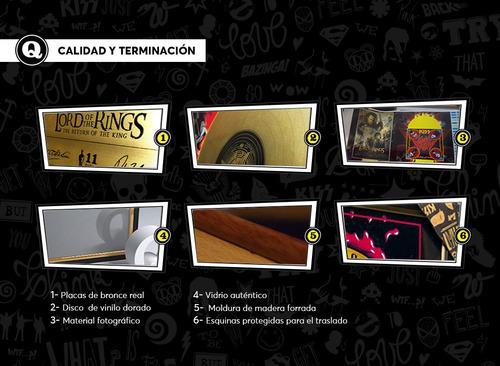 marco conmemorativo para tu entrada - slash - argentina 2011