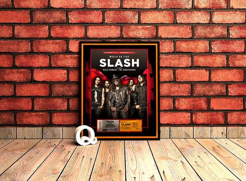 marco conmemorativo para tu entrada - slash - argentina 2015