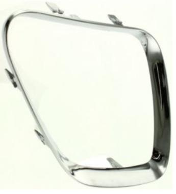 marco cromado de parrilla derecha pontiac g6 2005 - 2010