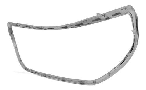 marco cromado de parrilla paragolpe delantero peugeot 208