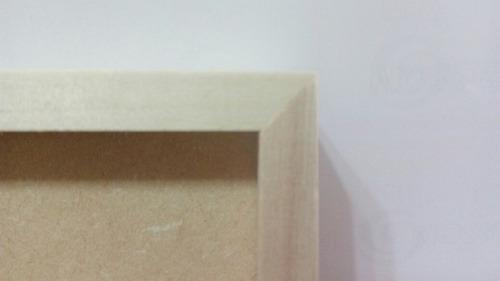 marco cuadro box 20x30, portarretrato madera