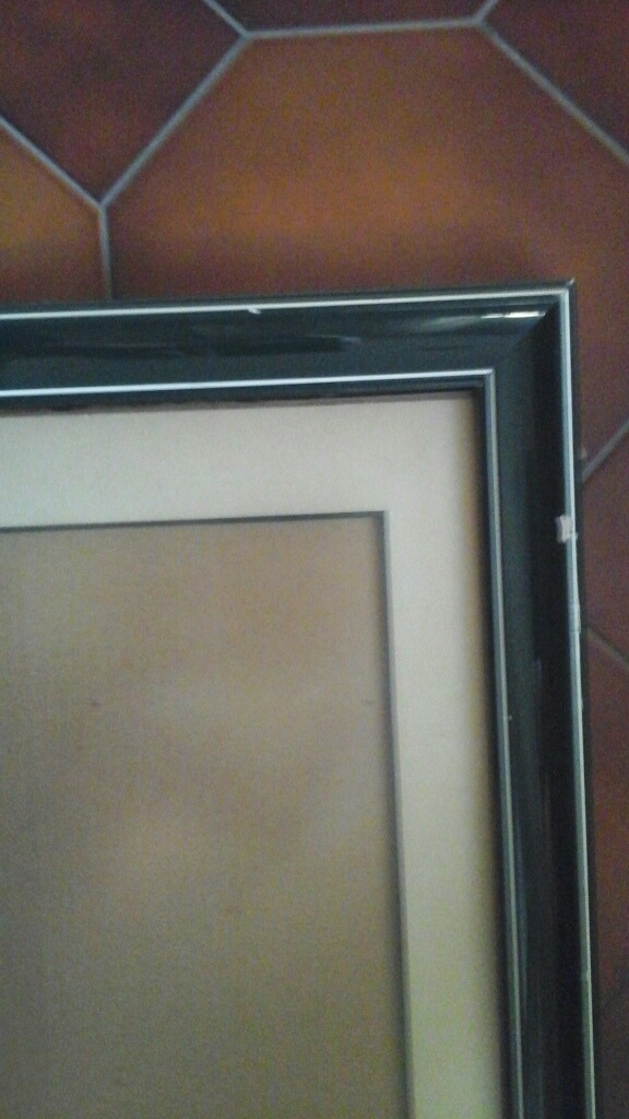 Marco Cuadro De Madera Verde Con Vidrio Mate - Bs. 15.000.000,00 en ...