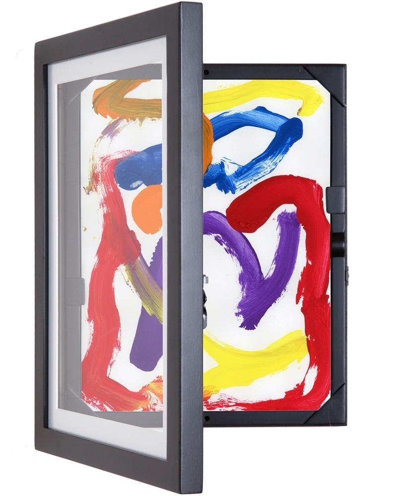 Marco / Cuadro Facil Acceso 9x12 - Para Dibujos Y Arte - $ 1,090.00 ...