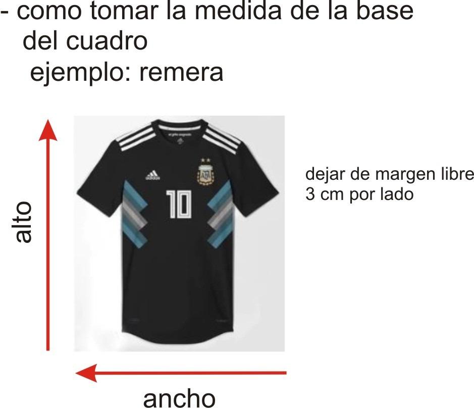 Marco / Cuadro /moldura Para Enmarcar Camisetas - $ 32,00 en Mercado ...
