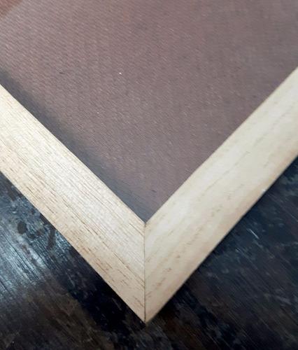 marco cuadro p/ diploma a4 21x30 madera natural con vidrio