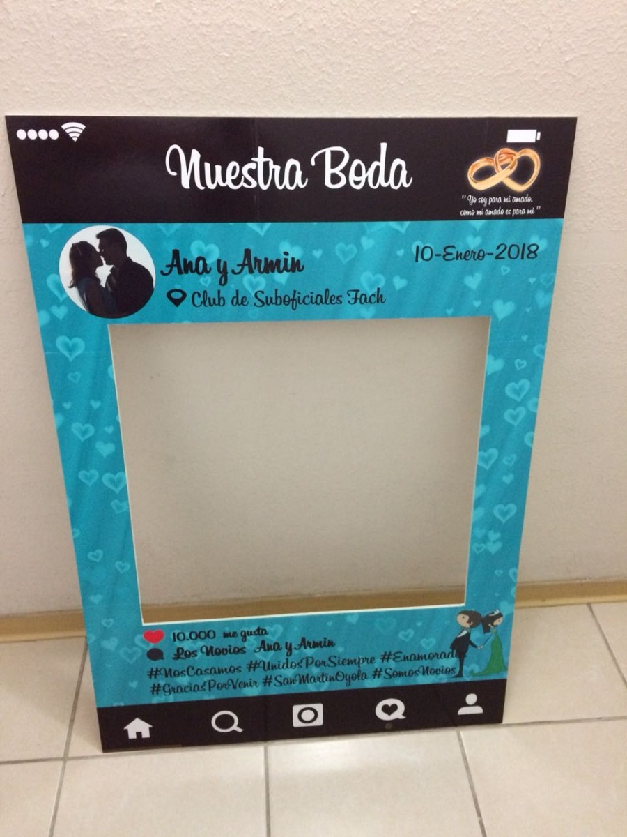 Marco Cuadro Selfie Instagram Para Bodas - $ 17.000 en Mercado Libre