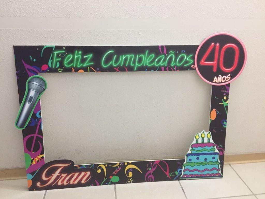 Dorable Marcos De Cuadros 40 Cumpleaños Foto - Ideas Personalizadas ...