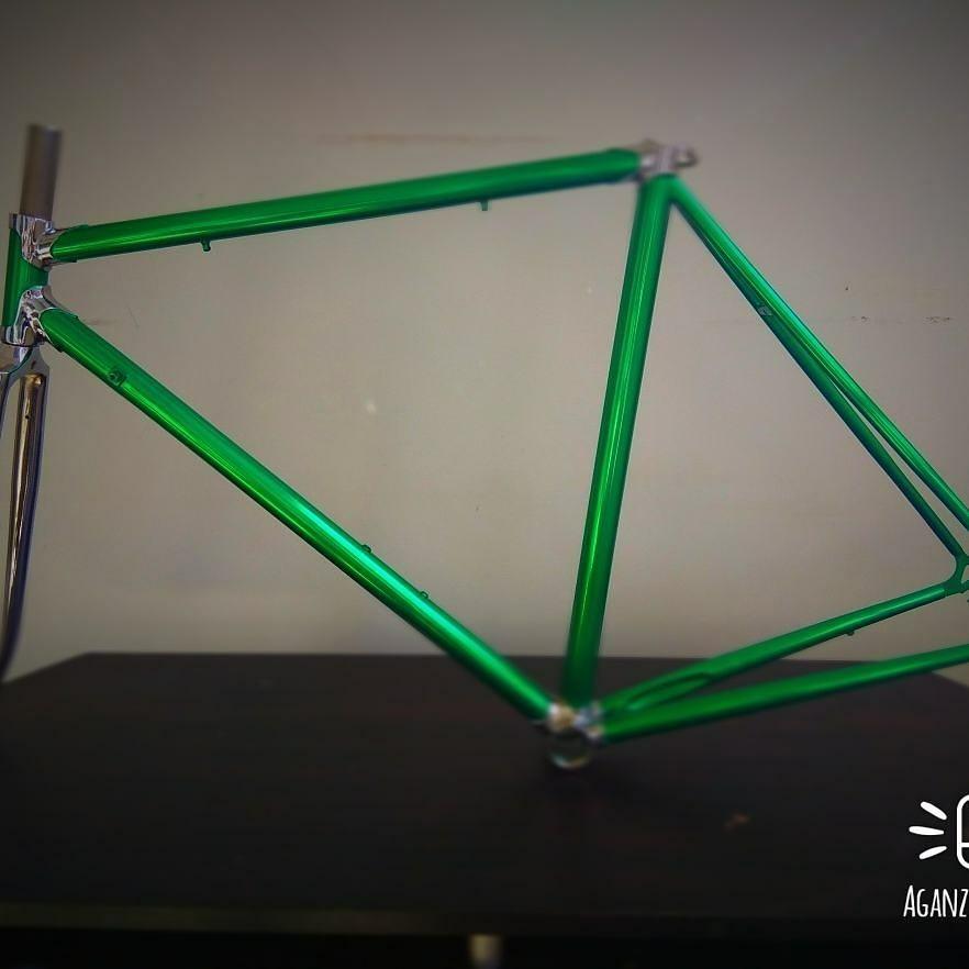 Marco De Bicicleta Estilo Clásico Un Color Tenedor Cromo - $ 330.000 ...