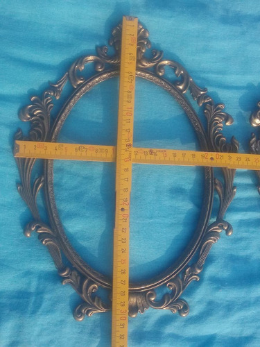 marco de bronce 30 x 23cm. s/. 45 c/u. lima