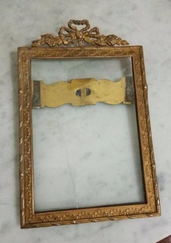 marco de bronce pesado frances sellado brevete