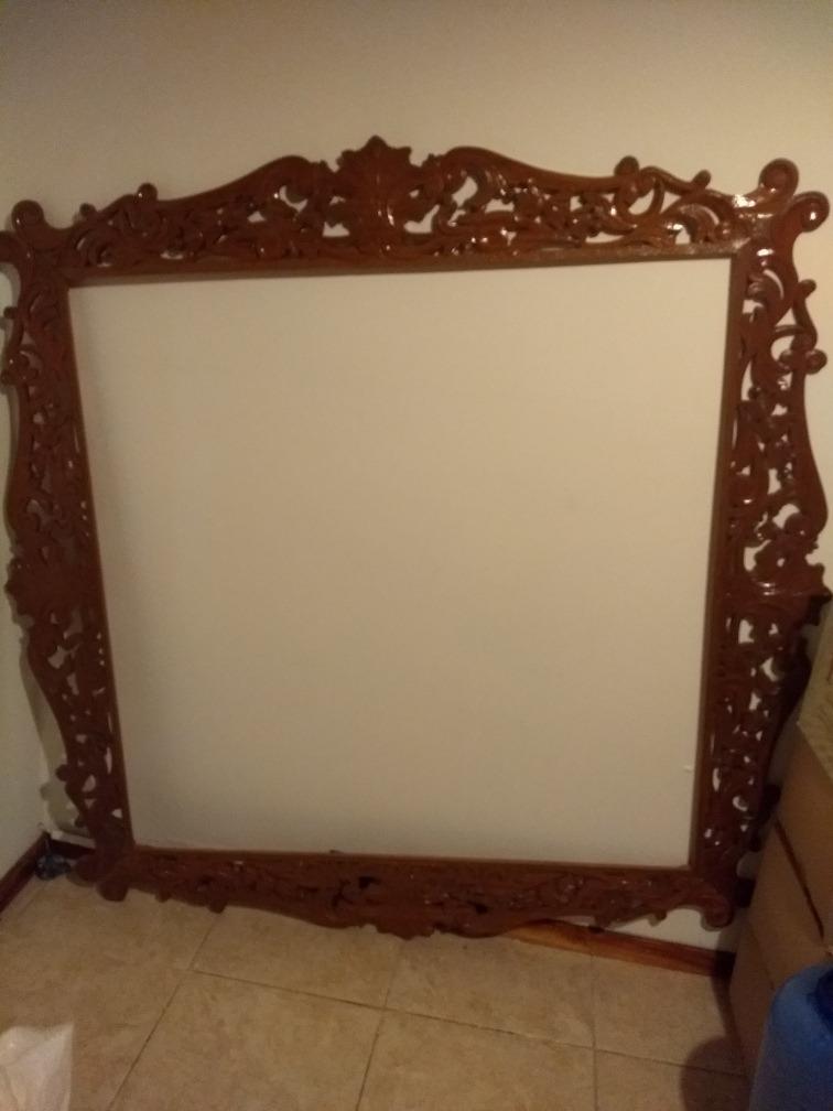 Marcos espejos antiguos top descubre nuestros espejos for Pintar marco espejo