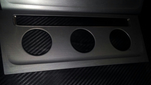 marco de estereo en acero inox cepillado  de golf a7. origin