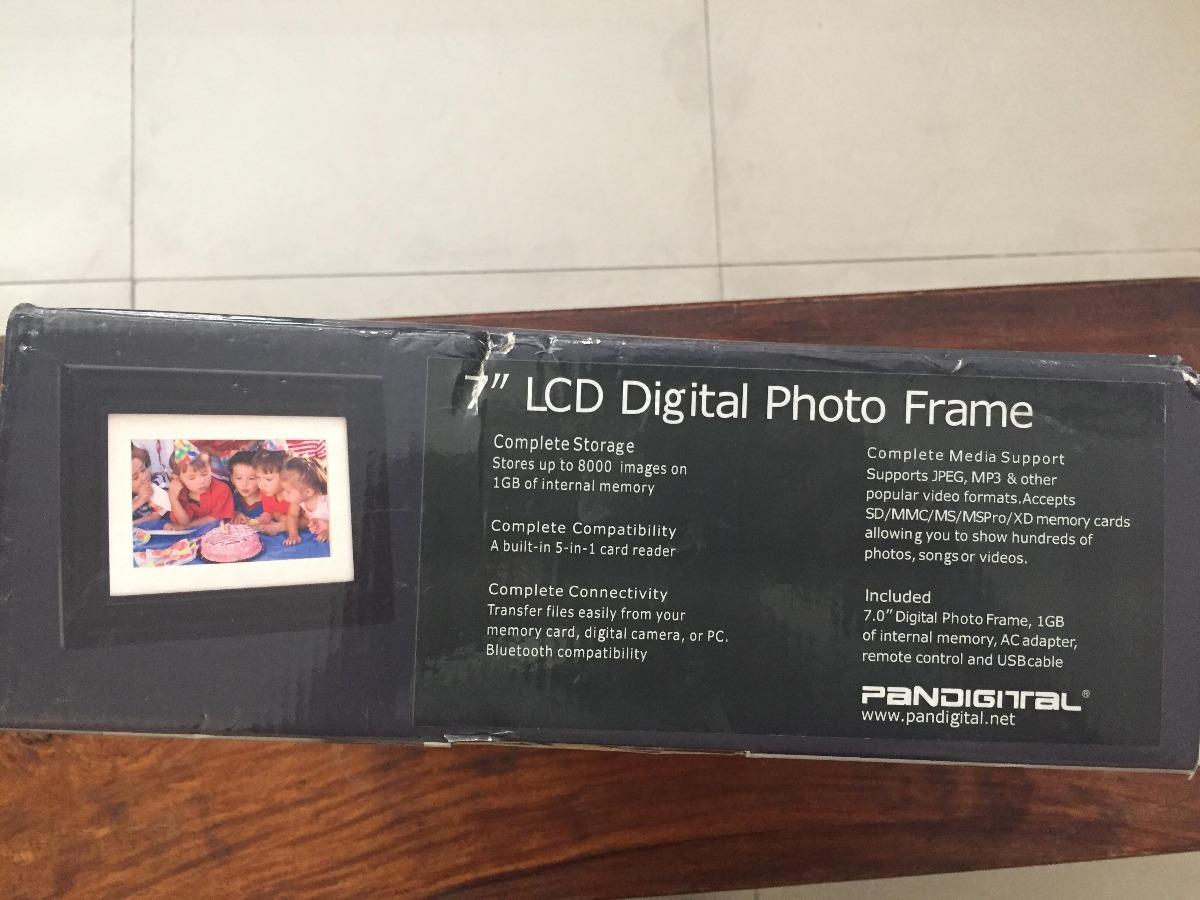 Marco De Fotos Digital Pandigital Pantouch De 7 Pulgadas - $ 900.00 ...