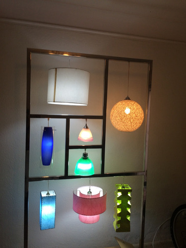 marco de lámparas decorativas