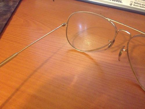marco de lentes ray ban aviator u.s.a.