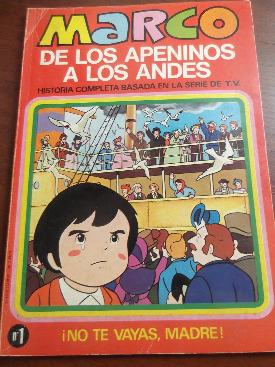Marco De Los Apeninos A Los Andes #1 Comic Bruguera - Bs. 3.893.500 ...