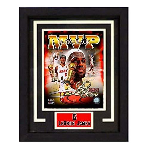 Marco De Lujo De La Nba Miami Heat 11x14 Lebron James Print ...