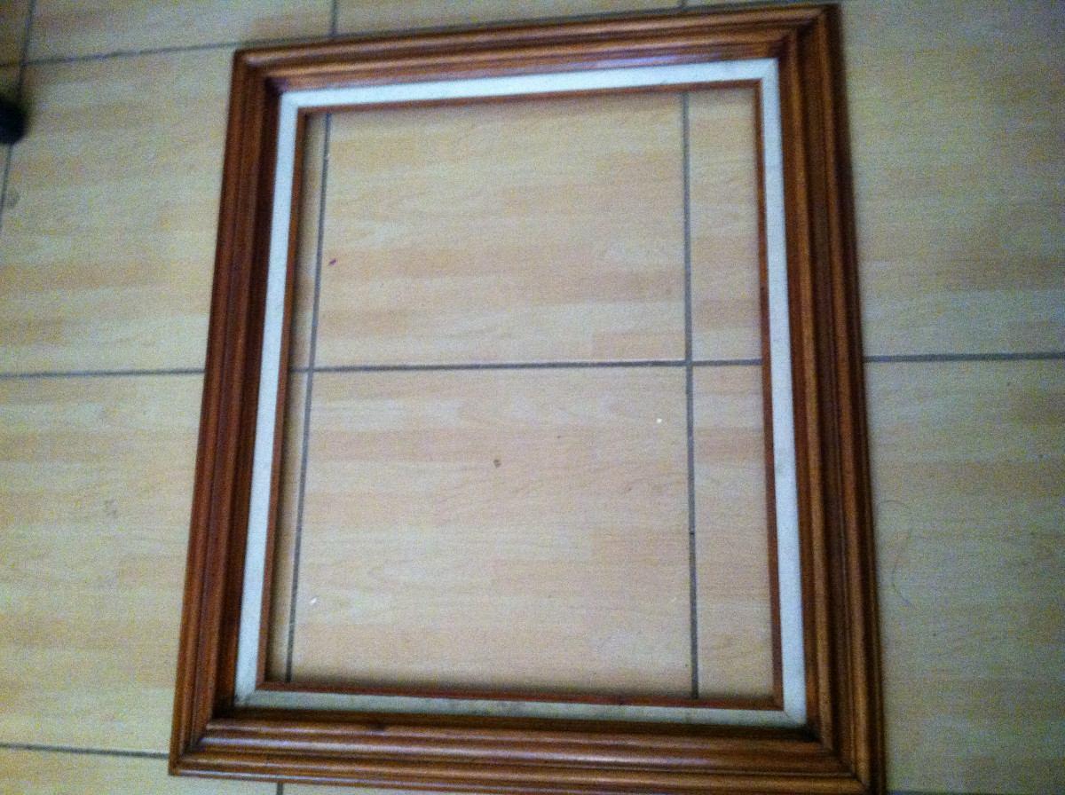 Marco de madera para cuadro en mercado libre for Marcos para cuadros baratos