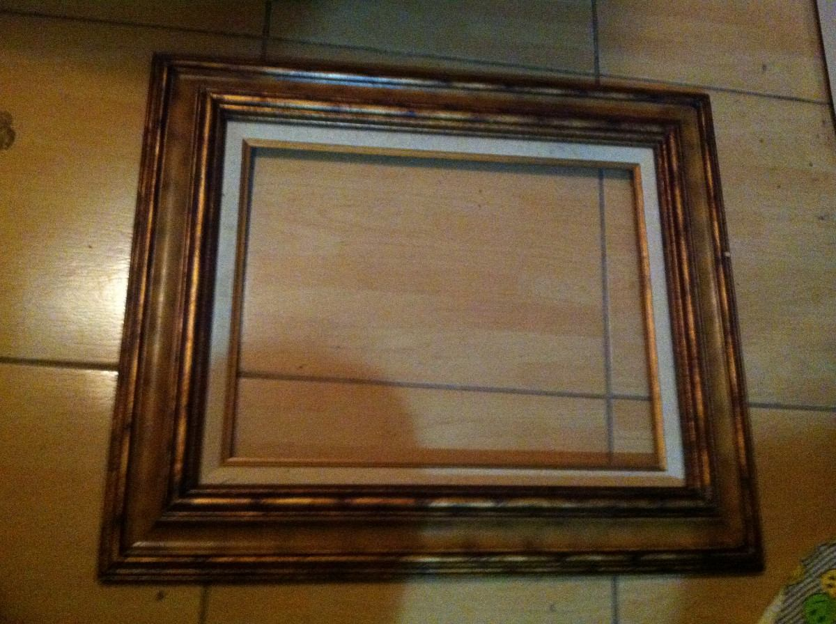 Marco de madera para cuadro en mercado libre - Marco para cuadro ...